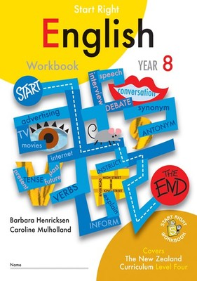 ESA English Year 8 Start Right Workbook