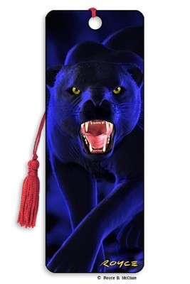 Panther 3D Bookmark