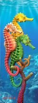 Seahorses 3D Bookmark