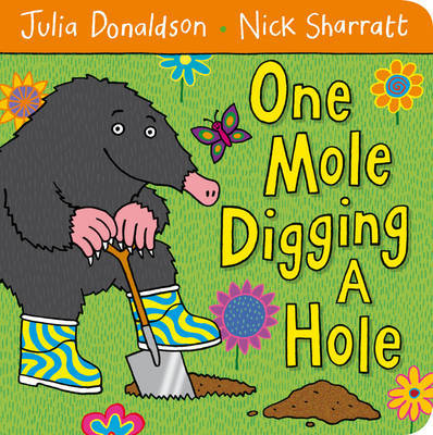 One Mole Digging A Hole (Board)