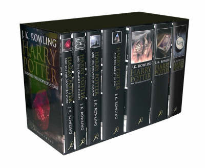 Harry Potter (Box Set Hardback Adult Covers)