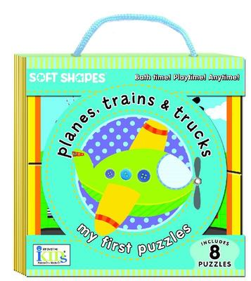 My First Puzzles Planes, Trains and Trucks! (Soft Shapes)