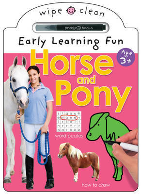 Horse and Pony (Wipe Clean Early Learning Fun)
