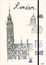 City Journal London - Lined 16x22cm (60247)