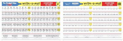 M&D - Counting to 100 Write-A-Mat