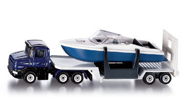 SKU1613 - Low Loader With Boat