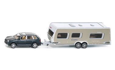 Car With Caravan