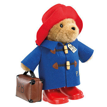 PB1102 Paddington with Boots and Suitcase 34cm Plush Toy
