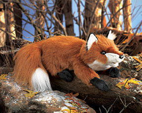 Fox Puppet, Small Red