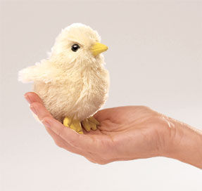 Chick Fingerpuppet