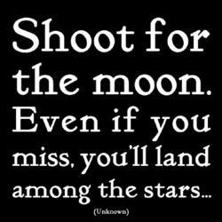 Shoot for the Moon Magnet