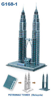 Petronas Tower 3D Puzzle