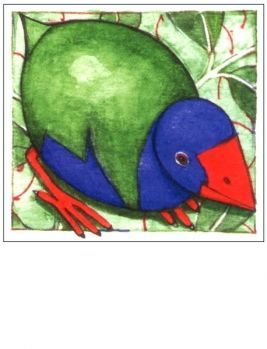 Takahe Mini Card