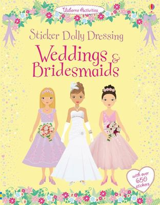 Sticker Dolly Dressing Weddings & Bridesmaids