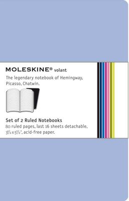 Volant Ruled Prussian Blue Pocket Notebook pk2