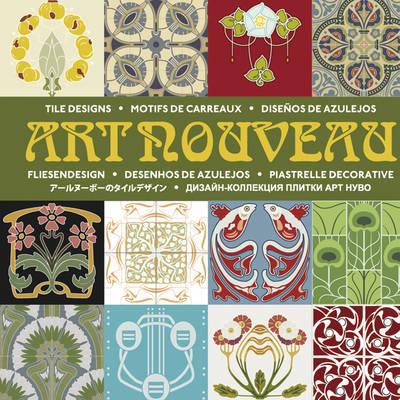Art Nouveau Tiles + CD