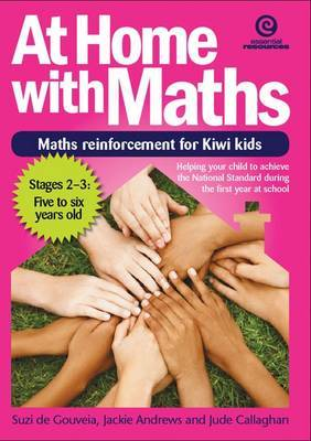 Stages 2 to 3, 5-6yrs (At Home with Maths: Reinforcement for Kiwi Kids)