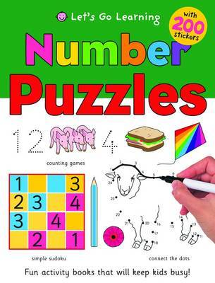 Lets Go Learning - Number Puzzles 2T