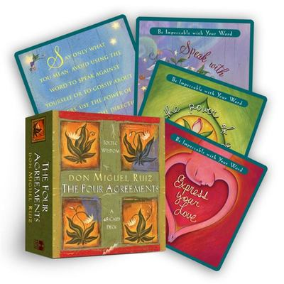 The Four Agreements Cards (48 card set)