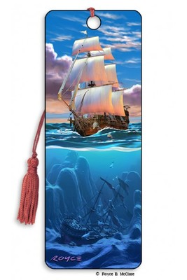 Sail Away 3D Bookmark