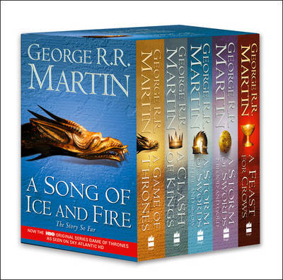 Game of Thrones: The Story Continues: A Song of Ice and Fire: Volumes 1-4 (A Game of Thrones / A Clash of Kings / A Storm of Swords: Steel and Snow / A Storm of Swords: Blood and Gold / A Feast for Crows)