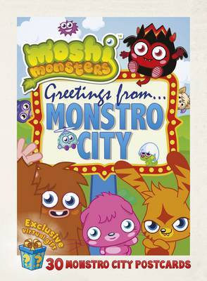Greetings From Monstro City : 30 Monstro City Postcards (Moshi Monsters)
