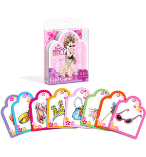 Large fancy nancy card game
