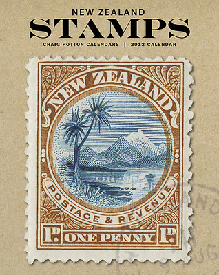 New Zealand Stamps Mini Wall Calendar 2013