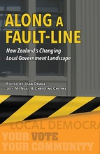 Homepage along a fault line front cover