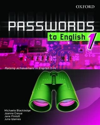 Passwords to English: Y7: E-resource Pack 1