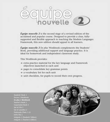 Equipe Nouvelle Part 2: En Plus Workbook