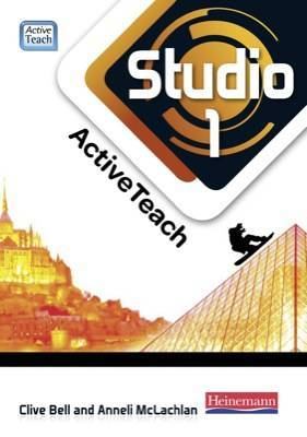Studio 1 ActiveTeach (11-14 French) DVD/CD