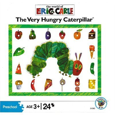 The Very Hungry Caterpillar Food Puzzle, 24-Piece