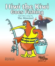 Homepage hiwi the kiwi goes fishing book and cd