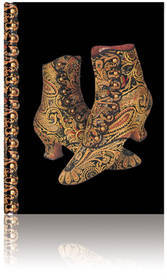 Large brocade boots