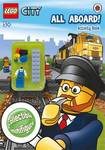 All Aboard!  (LEGO City Activity Book with Minifigure)