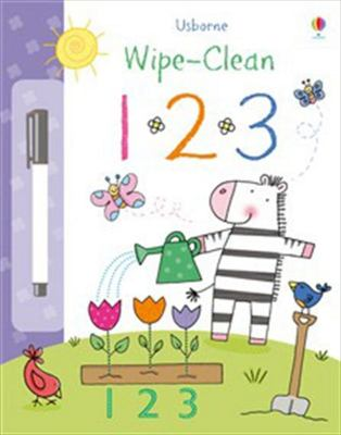 123 (Usborne Wipe-Clean)