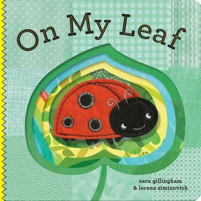 On My Leaf (Felt Finger Puppet)