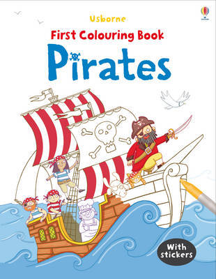 Pirates (Usborne First Colouring Book)