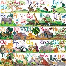 Art Angels Alphabet Animals Frieze