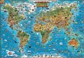 Illustrated Children's Map of the World