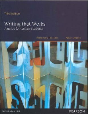 Writing That Works: A Guide for Tertiary Students