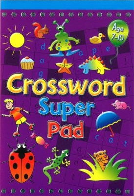 Large crossword super pad