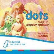 Dots Music for Bouncy Babies CD