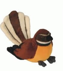 Piwakawaka (Fantail) with Sound, 15cm