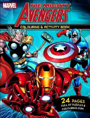 The Mighty Avengers - Colouring and Activity Book