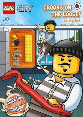 Crooks on the Loose! LEGO City Activity Book with Minifigure