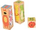 3 Piece Animal Block Puzzle