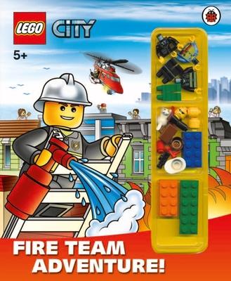 Fire Team Adventure!  (LEGO City Activity Book with Minifigure HB)