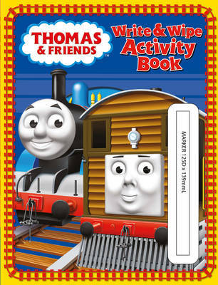 Write and Wipe Activity Book (Thomas & Friends)